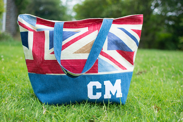 Union Jack Shopping Tote