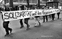 Rally: solidarity with the hunger strikers Refugees from Munich