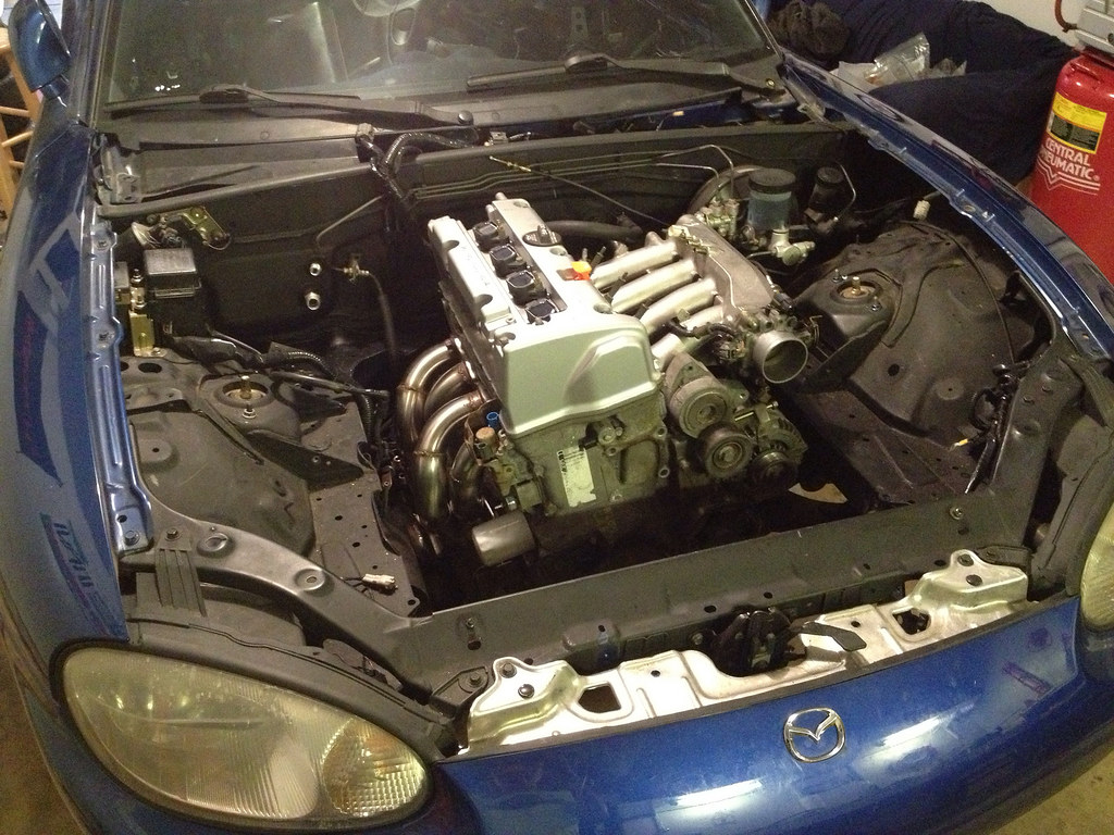 Turbo Miata Engine