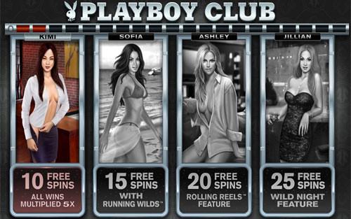 Playboy Free Spins