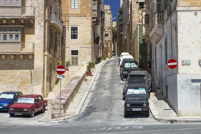 Vittoriosa Streets - Malta