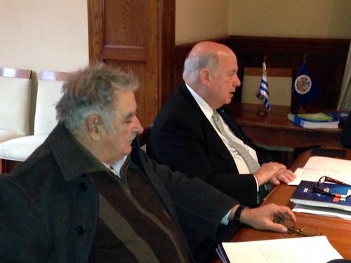 Presidente de Uruguay recibió al Secretario General de la OEA