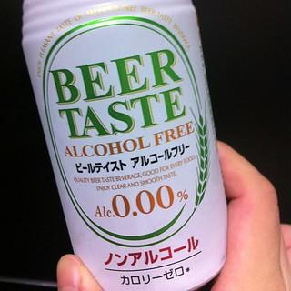 今日の湯上りノンアルコール飲料は、オエノンのビールテイスト・アルコールフリー
