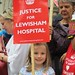 A youthful campaigner for Lewisham Hospital