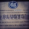 Stop #2 on the Twin Cities Burger Tour:  The Blue Door!!  Blucy with beer battered green beans
