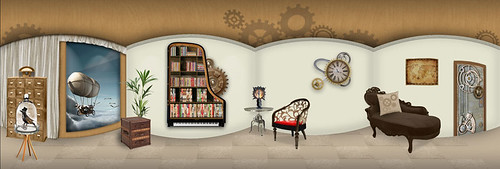 Steampunk Room
