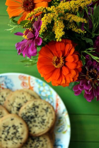 Tahini Lime Cookies