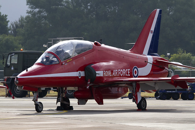 RAF RedArrows Hawk T.1