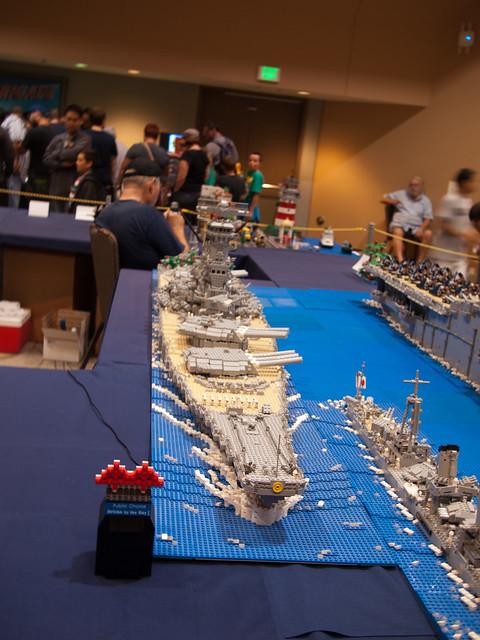WWII Yamato battleship