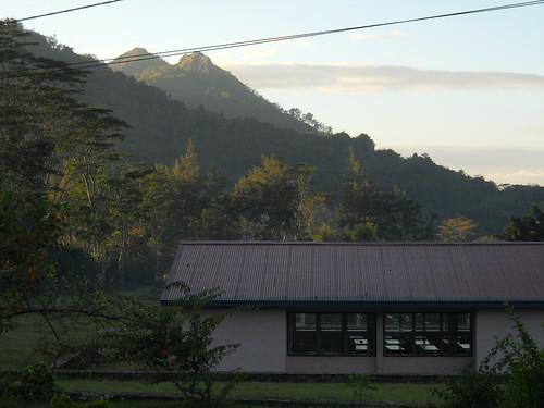 dawn from the Teachers' House