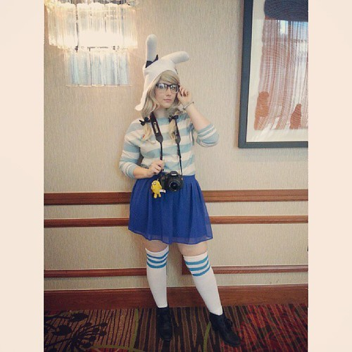 I'm the photographer for Marceline and the Scream Queens. You've probably never heard of them. #fionna #hipster #afest