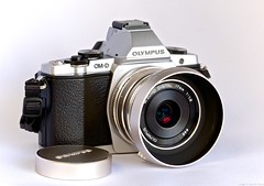 OM-D with 17mm Lens with Metal Cap
