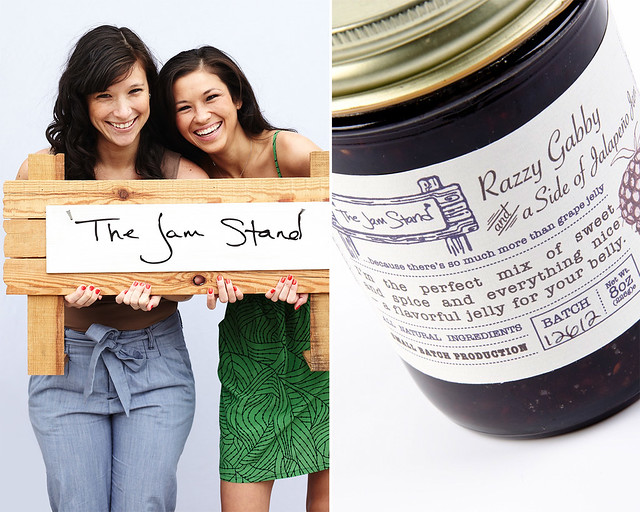 Sabrina Valle and Jessica Quon of the Jam Stand.