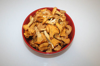 04 - Zutat Pfifferlinge / Ingredient chantarelles