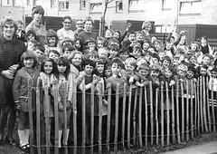 Children Greet Harold Wilson