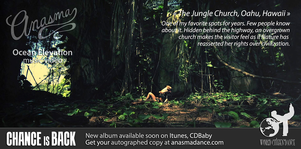 Anasma Music Video Ocean elevation teaser photo 4 one of my favourite spots jungle church