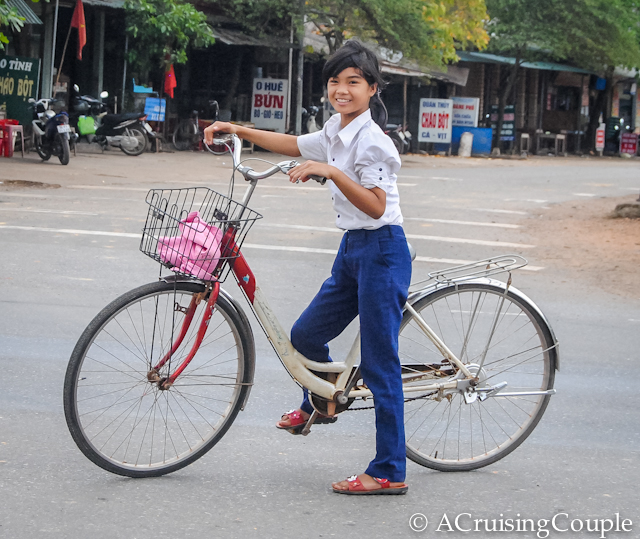 Visit Vietnam Girl on a Bike