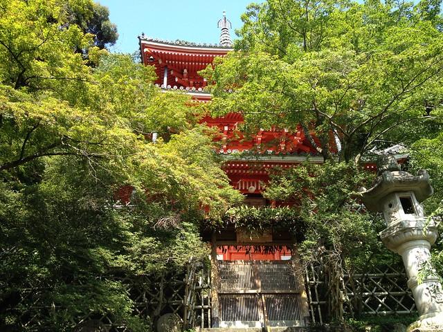 金華山 三重塔