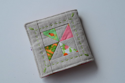 pinwheel needlebook by Poppyprint