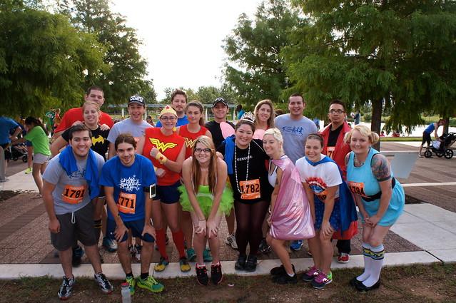 teleNetwork - Sponsor of 2013 CASA Superhero Run, Austin, Texas
