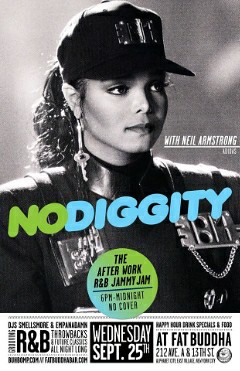 9/25 - TONITE - Neil Armstrong @ Fat Buddha NYC for NO DIGGITY - 5-11 PM