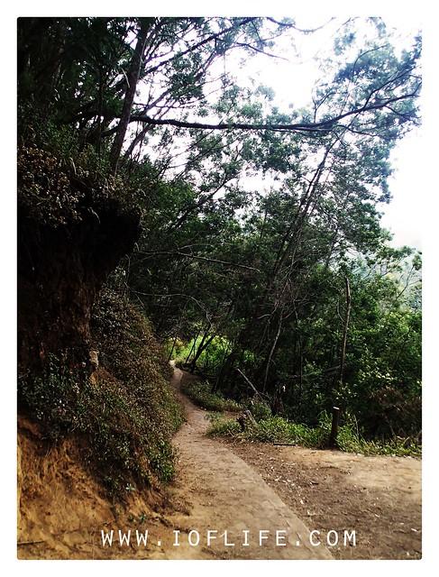 Route to semeru