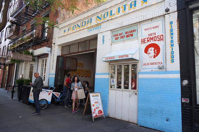 Taquería Tacombi en Nolita