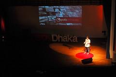 Fatema Jannat Mony at TEDxDhaka 2013