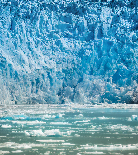 The Mighty Walls of the Glacier