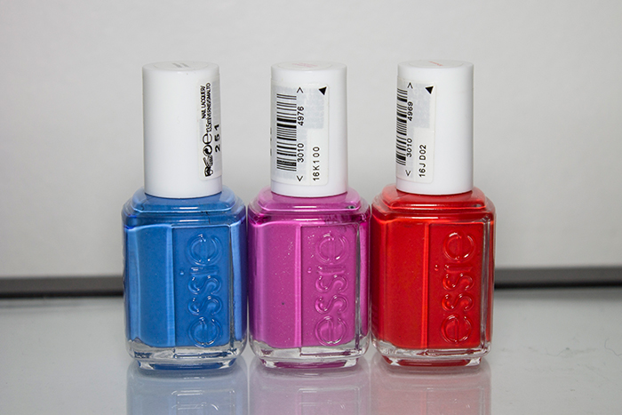 Essie Avenue Maintain, Essie Madison Ave-Hue, Essie Hip-Anema