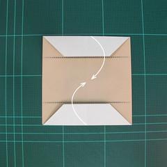 การพับกระดาษเป็นรูปเรือเรือสำปั้น (Origami Sampan) 006
