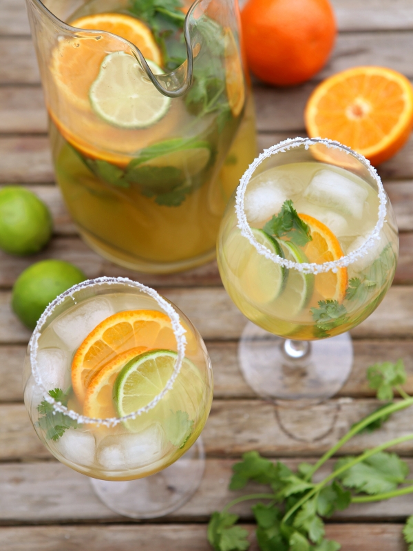 Margarita Sangria, from completelydelicious.com