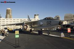 142251 NF-612 - 11577 - US Navy - Douglas EKA-3B Skywarrior - USS Midway Museum San Diego, California - 141223 - Steven Gray - IMG_6555