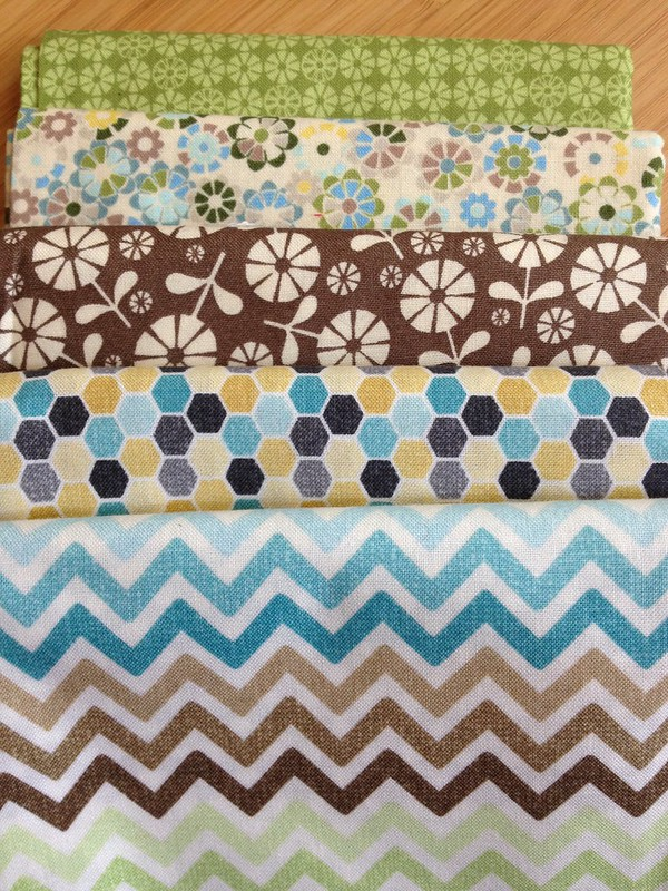 Some fabrics for the hands2help quilt