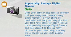 Appreciably Average Digital Camera