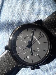 Emporio Armani Black Chronograph