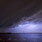 © Ray Skwire  The first real storm chase of the season for me, this was at Riverview Beach Park in Pennsville, NJ