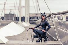 Catwoman is ready for action.