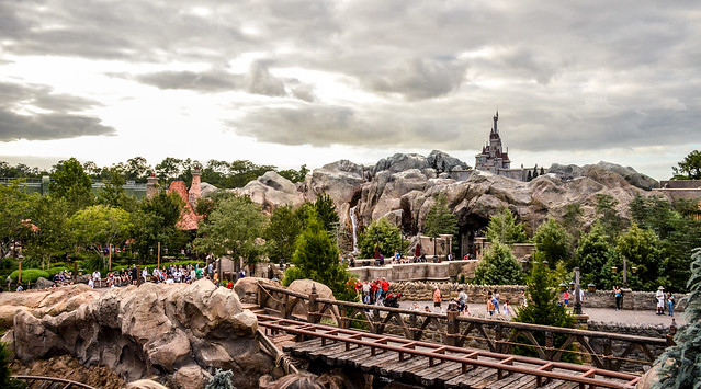 MK Beast castle mine train