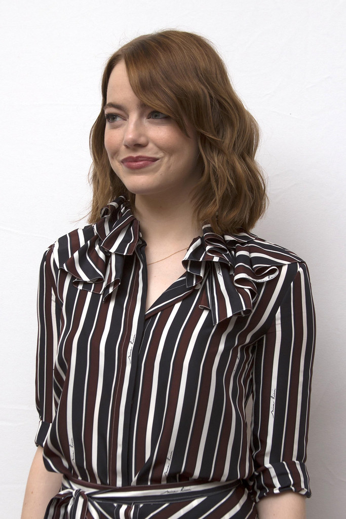 Эмма Стоун — Пресс-конференция «Ла-Ла Ленд» на «TIFF» 2016 – 28