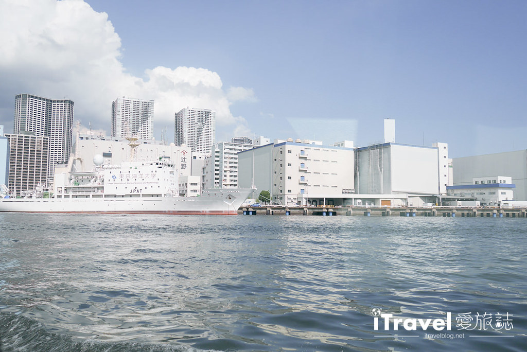 《东京游船体验》东京水上巴士 Tokyo Cruise Himiko:浅草40分钟直达台场,悠闲自在又免去转车麻烦。
