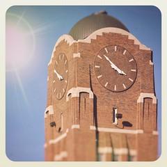 Clock Tower Face RiNo Denver Colorado Brick brr4pa