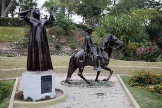 Bild von Chabuca Granda. barranco lima peru plazachabucagranda southamerica statue
