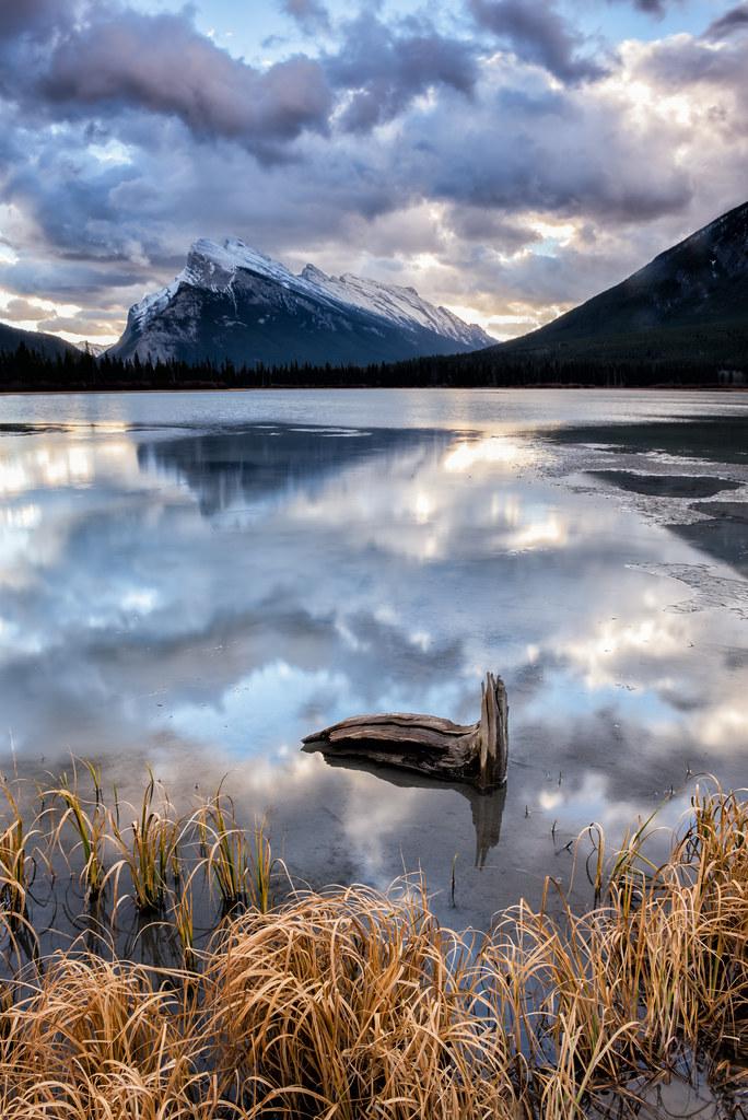 Vermilion Lakes Alberta Tripcarta