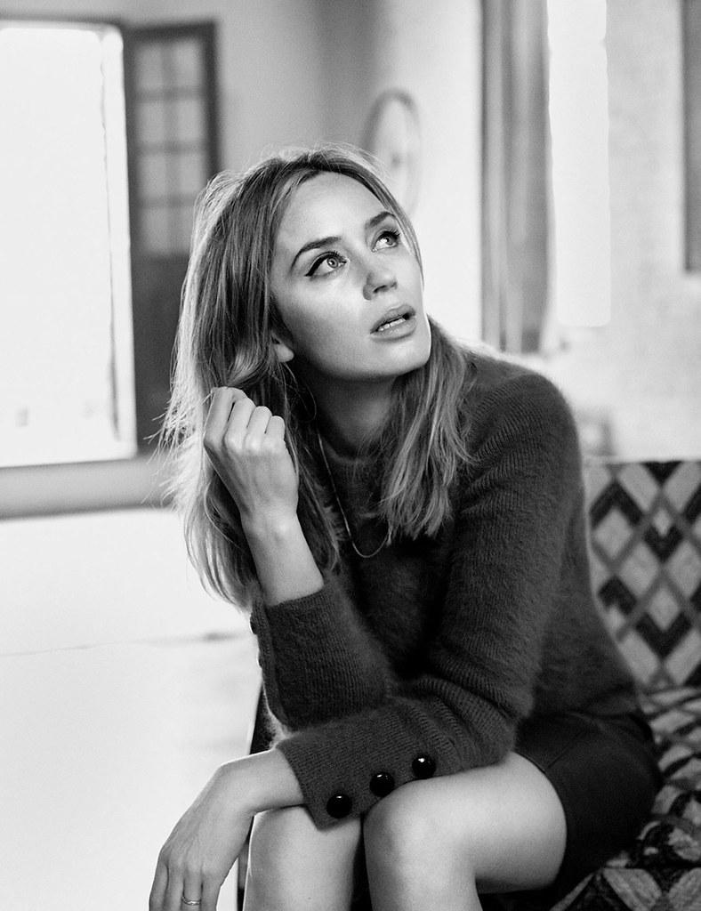 Эмили Блант — Фотосессия для «Vogue» UK 2016 – 6