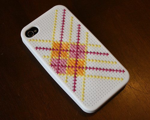 cross stitch iphone case 1