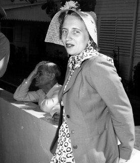 Margaret Truman Models Her Easter Bonnet, 04/06/1950