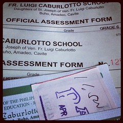 Enrollment time. We will have graduates by March 2013! Yey!!