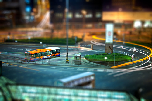 Leeds Bus Station - Tilt Shift
