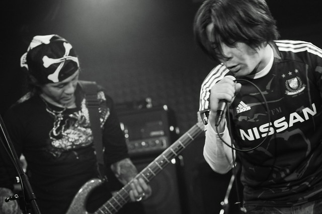 FLEA live at Crawdaddy, Tokyo, 07 Apr 2012. 317